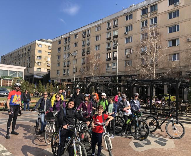 Vestitorii primăverii cicliste